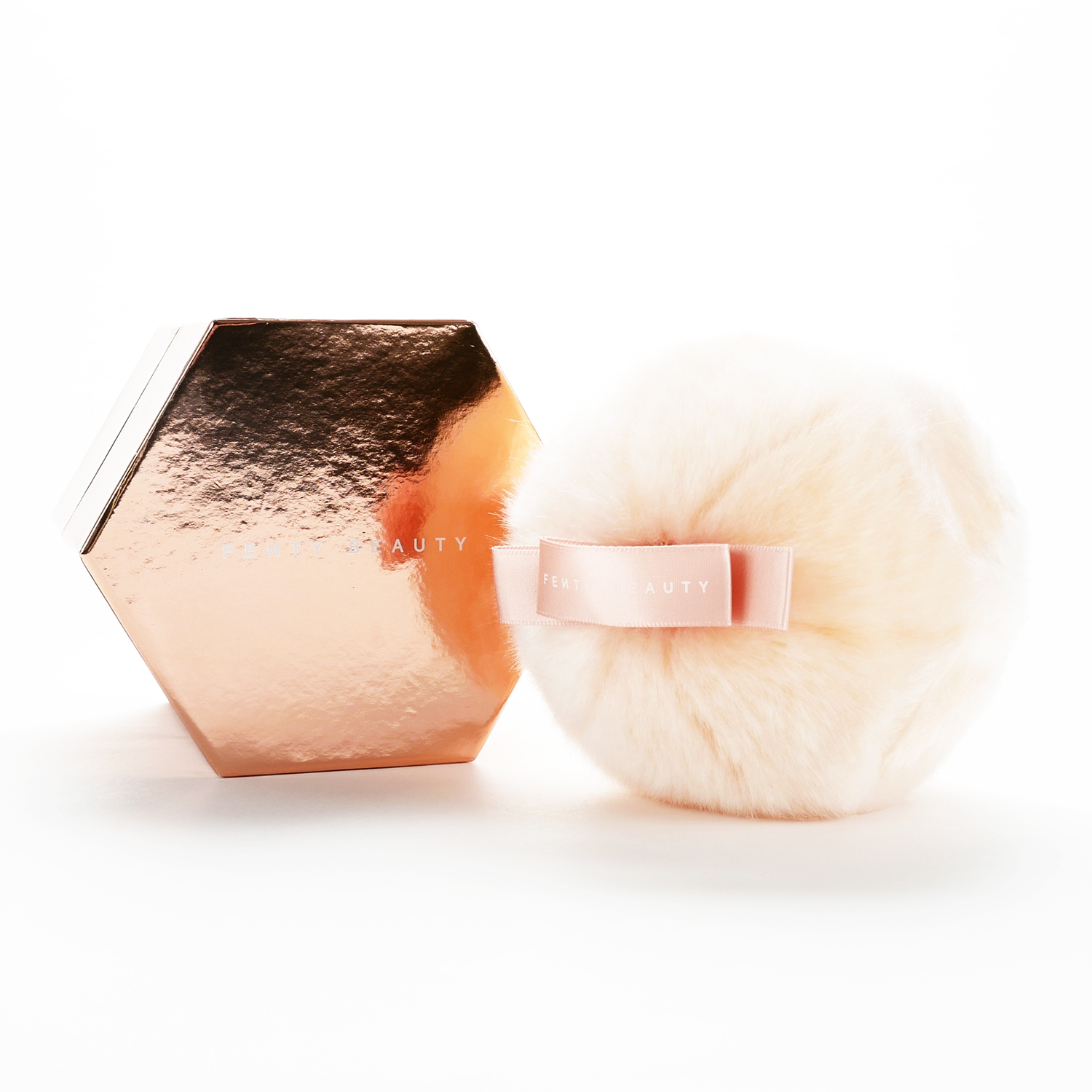 ec99d9888 The pom pom is really soft and a pretty peach color. You have to hit the  Fairy Bomb against your skin many times to initially bring out the  hyper-reflective ...